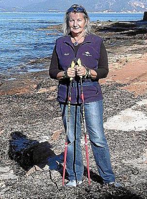 - 6 - Ute Michaela Moser unterrichtet seit 6 Jahren Nordic Walking i