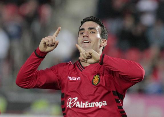 Traf zum fünften Mal in dieser Saison und ist damit Mallorcas zeitbester Torschütze: Alejandro Alfaro.