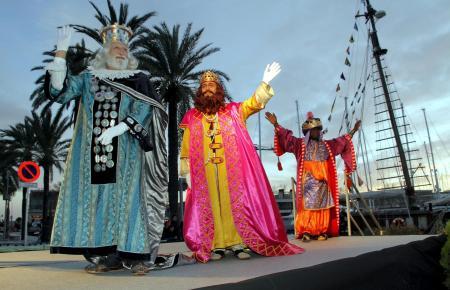 Die Heiligen Drei Könige in Palma 2014