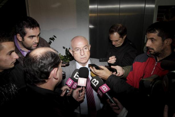 Serra Ferrer gibt seinen Rücktritt bekannt.
