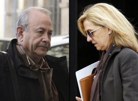 Sie treffen am 8. Februar auf einander: Ermittlungsrichter Castro und Prinzessin Cristina.
