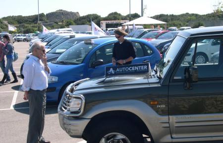 Gebrauchtwagen-Markt auf Menorca.