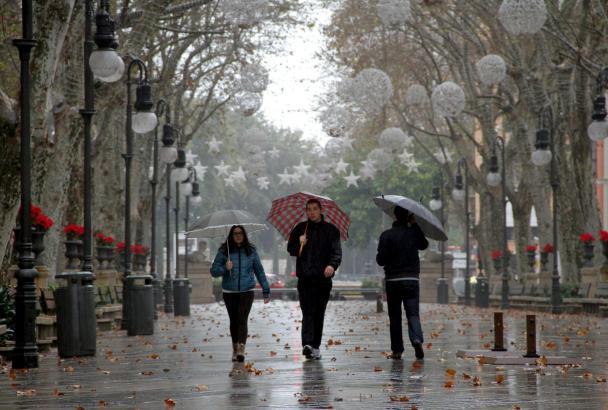 Vor allem am Sonntag ist mit Regen zu rechnen.