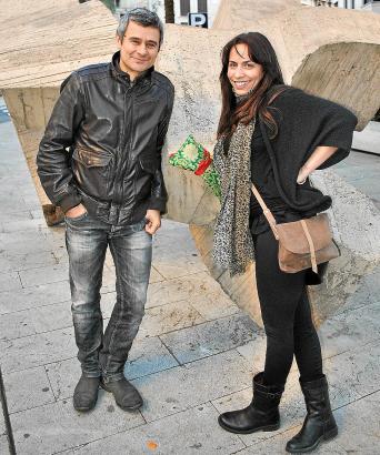 Saskia Guanche und Eheman Andreas Constantiniuc.