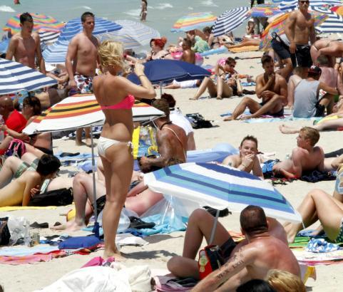 Den Prognosen zufolge dürften die Strände diesen Sommer wieder bestens gefüllt sein.