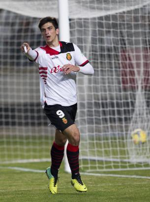 Real Mallorcas Gerard bejubelt seinen Treffer zum 2:2-Endstand.