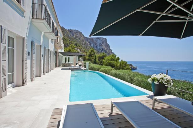 Luxus-Immobilie mit Meerblick im Südwesten von Mallorca.