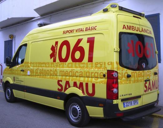 Die Rettungssanitäter brauchten den Mann nicht mehr zu befreien, sie stellten aber Atembeschwerden bei ihm fest.