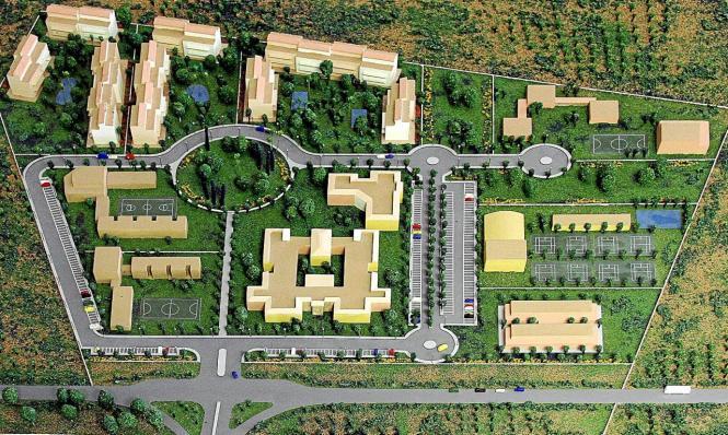 Der künftige Campus auf dem Gelände in Lluchmajor soll mehr als 88.000 Quadratmeter umfassen.