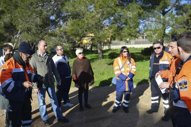 Die Freiwilligen-Gruppe suchte zunächst in Santa Ponça. Bislang ohne Erfolg.