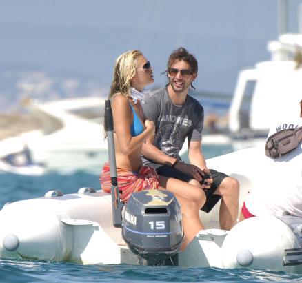 James Blunt auf Ibiza.