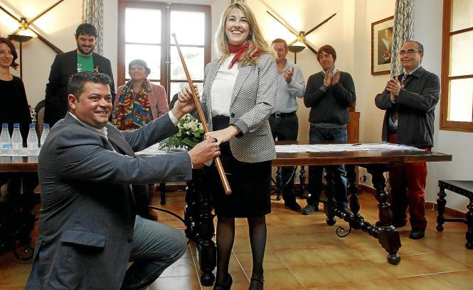 Jaume Crespí übergibt sein Amt an Magdalena López.