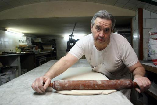 Miquel Pujol in seiner Bäckerei.