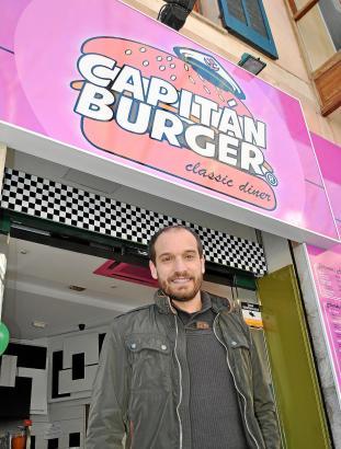 Rafael Campins ist Inhaber und Gründer der mallorquinischen Hamburgerkette Capitán Burger.