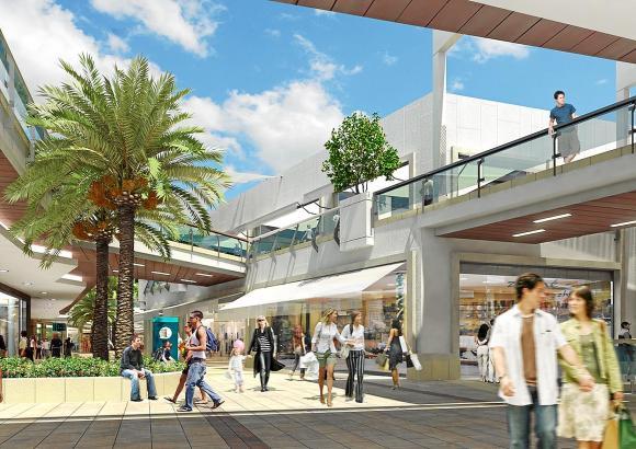 120 neue Lokale sollen die Kundschaft ins Einkaufszentrum S'Estada locken.