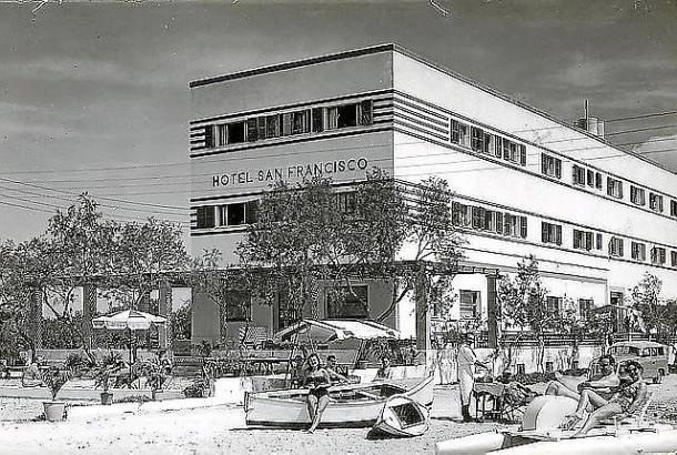 Das Hotel Riu San Francisco 1953.