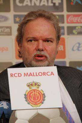Das deutsche Mitglied des Verwaltungsrates von Real Mallorca, Anteilseigner Das deutsche Mitglied des Verwaltungsrates von Real