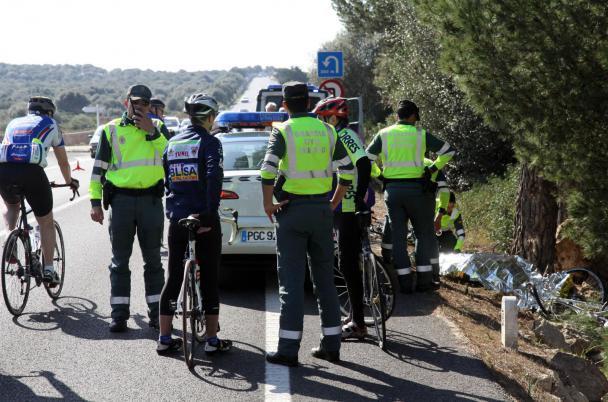 Der Unfall ereignete sich auf der Küstenstraße von Llucmajor.