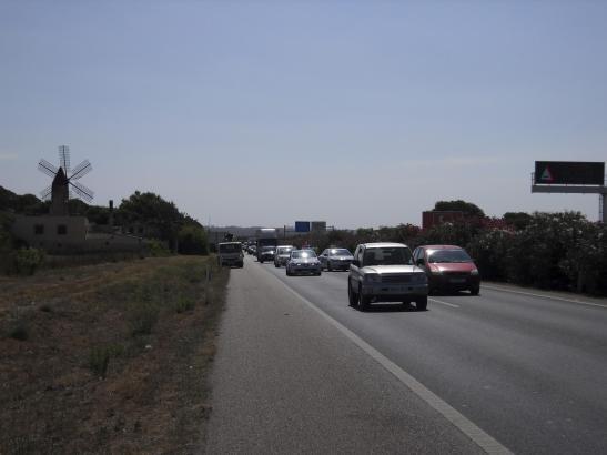 Die Flughafen-Autobahn, die Palma und Llucmajor verbindet, soll bis nach Campos verlängert werden.