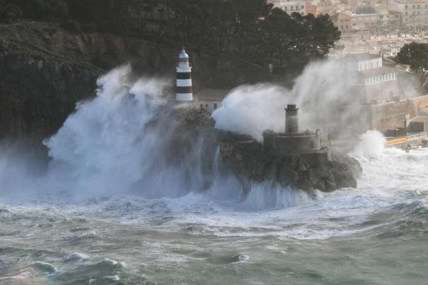 In Sóller schlagen die Wellen hoch.