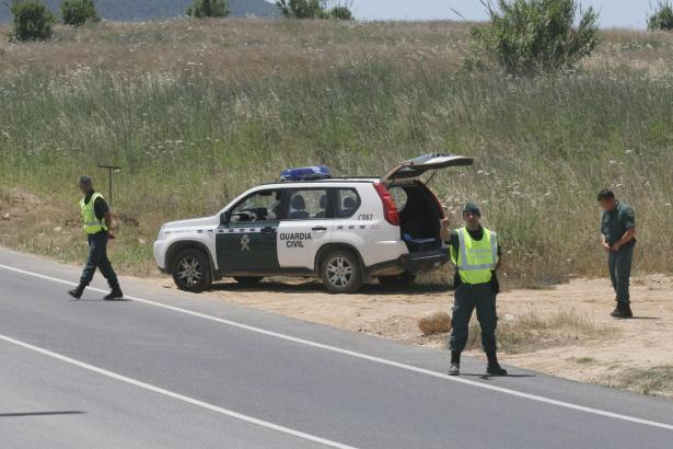 Die Guardia Civil auf Mallorca fahndet nach den Tätern.