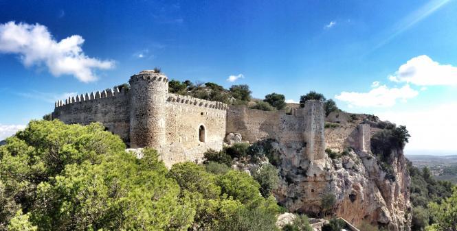 Das Kastell Santueri wird sicher auch viele Touristen anlocken.