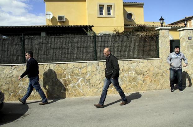 Hausdurchsuchung in Son Sardina: Hier stand der Computer, von dem aus auf das Facebook-Konto der Vermissten zugegriffen wurde.