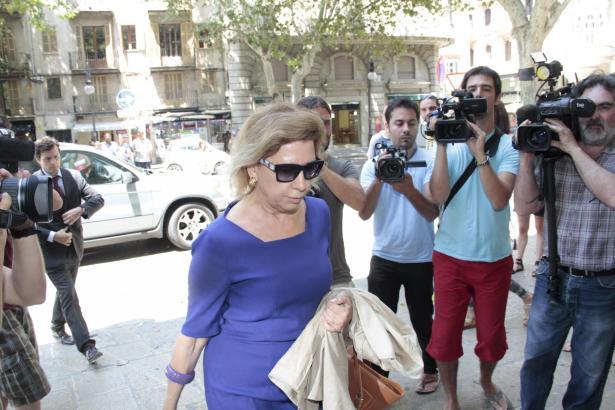Die frühere Inselratspräsidentin Maria Antònia Munar sitzt heute im Gefängnis.