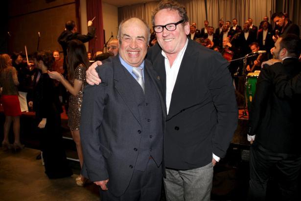 Colm Meaney (r.) und Tolo Güell standen im Mittelpunkt der Gala.