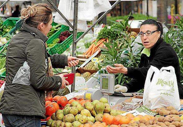 In Peguera ist seit dem 18. Februar dienstags Markt.