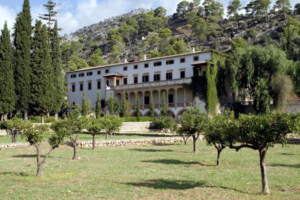 Das Landgut Raixa bei Bunyola.