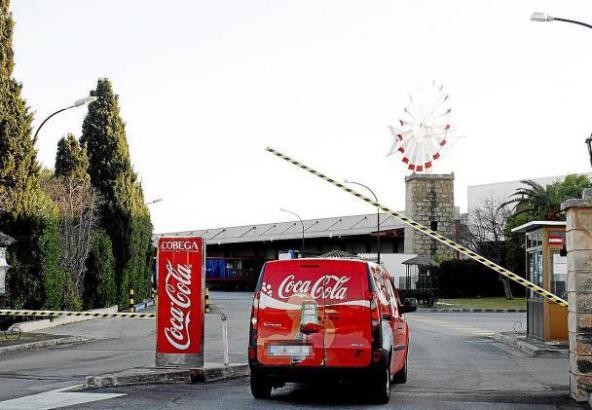 Das Coca-Cola-Werk in Palma.