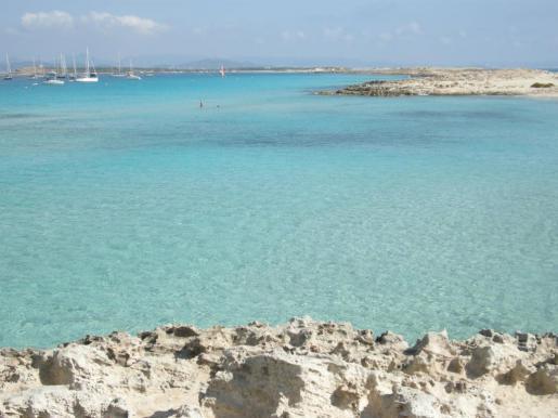 Illetes. Illetes auf Formentera.