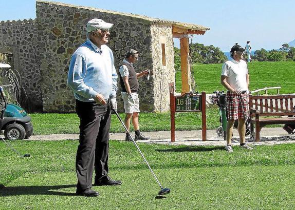 Willi Reimann war schon vor zwei Jahren mit den Gofus-Golfern auf Mallorca.