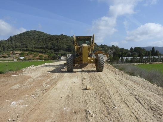 Die Bauarbeiten für die künftige Via Verde haben am Montag begonnen.