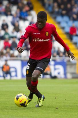Thomas Teye war auch gegen die zweite Mannschaft von Real Madrid der Matchwinner für Real Mallorca.