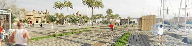 Palmas Hafen soll Bestandteil der City werden.