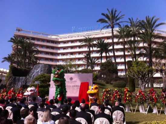Festakt zur Übernahme des Hotels Valparaíso in Palma durch eine chinesische Investorengruppe.