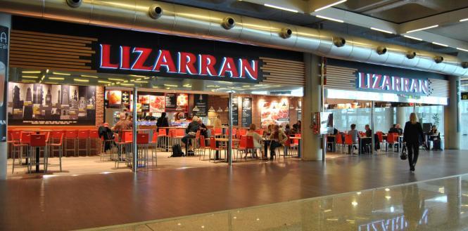 Das Lizzarán wartet mit baskischen Pinchos auf.