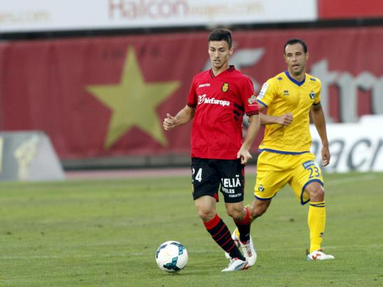 Traf aus der Distanz erstmals für Real Mallorca: Martí Riverola.
