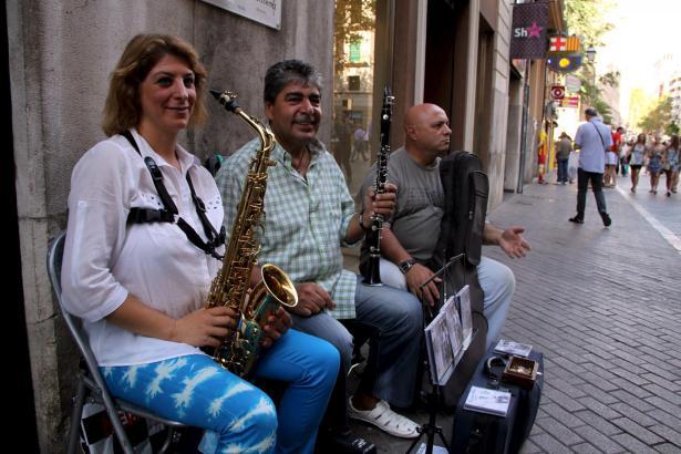 Straßenmusik ist erwünscht, aber nicht überall.