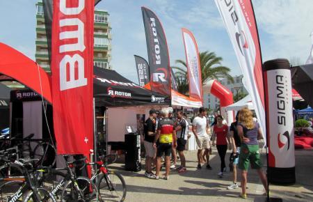Das Sigma-Roadbike-Festival – wie schon im vergangenen Jahr an der Playa de Muro.