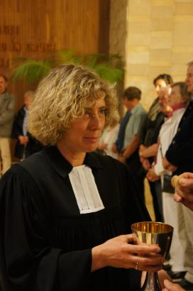 Sie hat die Gemeindemitglieder überzeugt: Heike Stijohann.