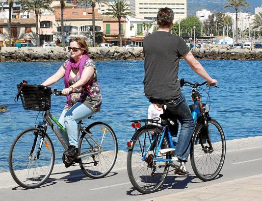 Zu Ostern herrschte auf Mallorca bereits bestes Wetter.