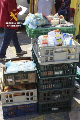 Die vergammelte Ware wurde beschlagnahmt und zerstört.