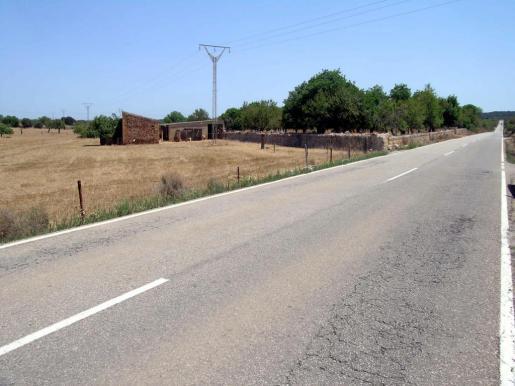 Auf dieser Landstraße ereignete sich der tödliche Unfall.