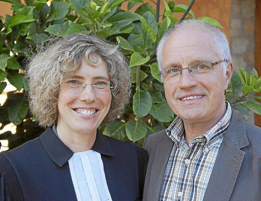 Das Ehepaar Stijohann wird das Pfarrhaus der evangelischen Gemeinde der Balearen beziehen.