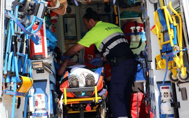 Der 78-Jährige Deutsche wurde bei dem Unfall schwer verletzt.
