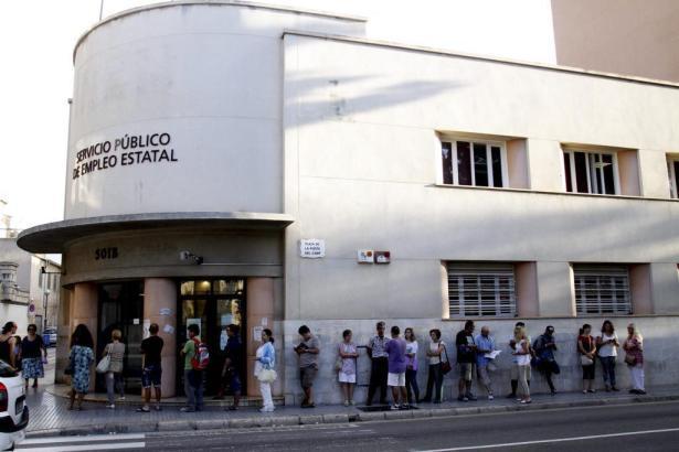 Das Arbeitsamt in Palma.