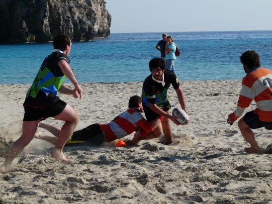 So wie hier auf Menoca wird es auch an der Playa de Palma aussehen.